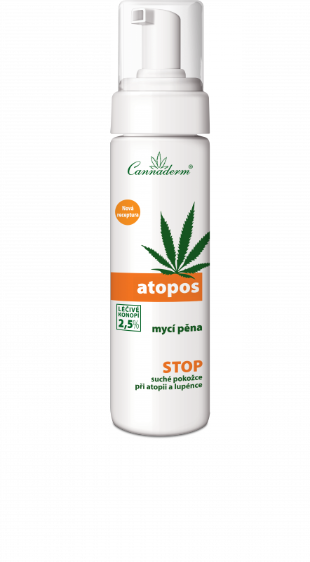 Atopos mycí pěna NEW 180ml